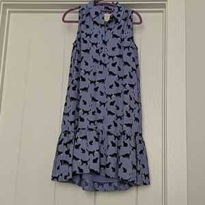 Kate Spade Periwinkle Cat Dress